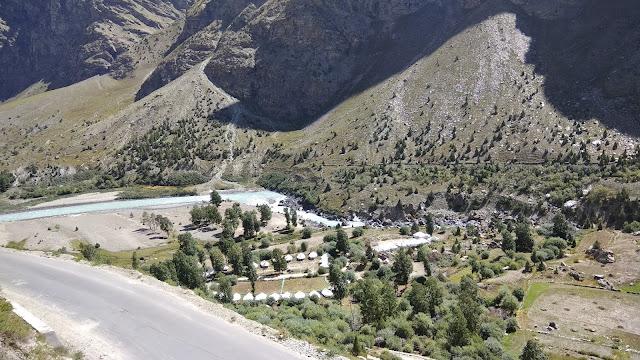 Leh Ladakh Bike Trip, Jispa