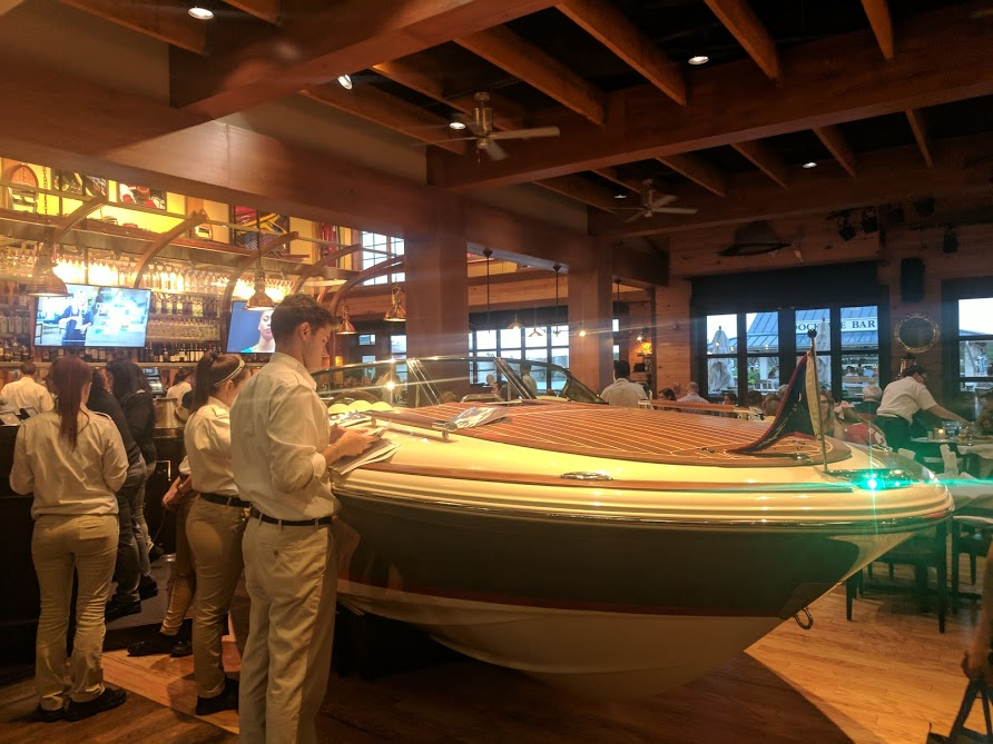 11 Things to do with Kids at Disney Springs Orlando, Florida  - Boathouse Interior