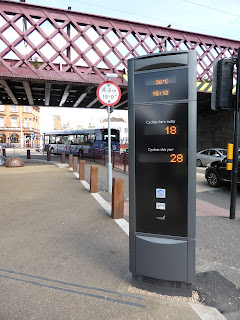 Cycle Counter in Coatbridge Scotland