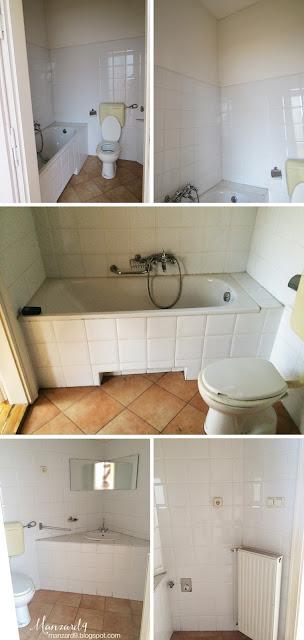 Manzard9 - bathroom in attic - before
