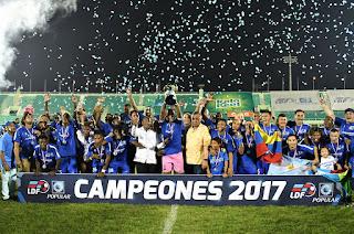 Atlántico FC Campeón LDF 2017