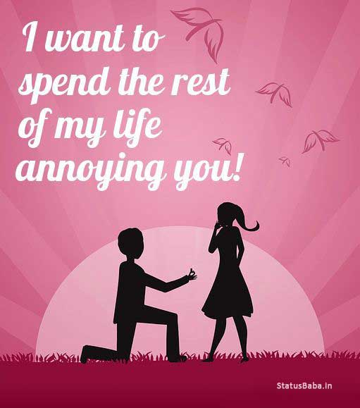 Funny Boyfriend Quotes | Funny Love Quotes For Her From The Heart Statusbaba