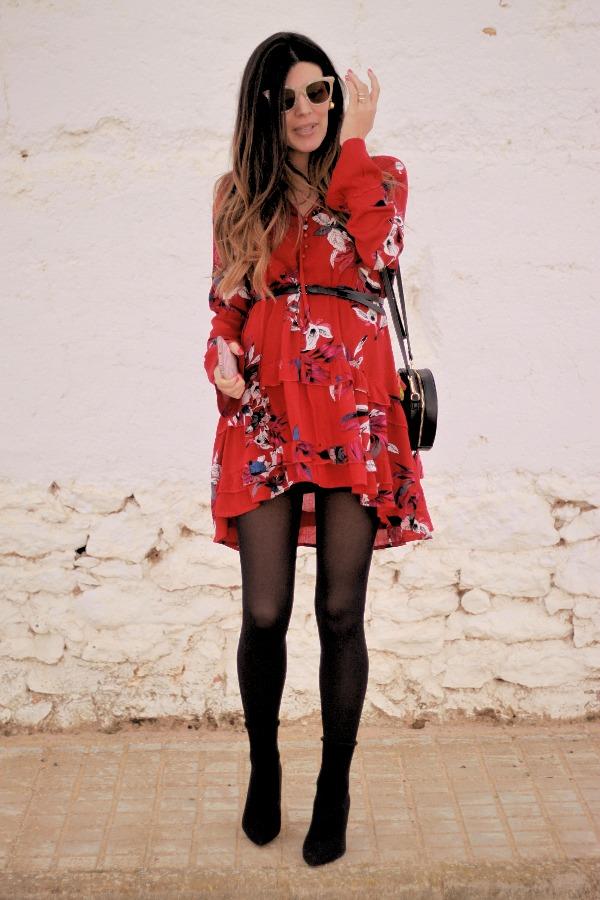 Moda embarazada, style pregnancy, vestido vaporoso