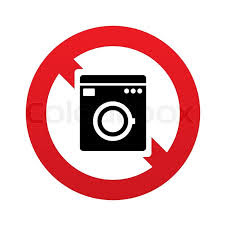 no machine wash