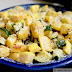 Roasted Zucchini and Yellow Squash with Parm and Garlic