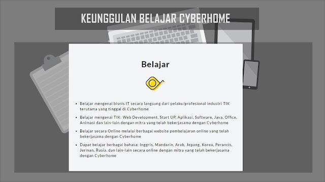 Keunggulan Belajar Cyberhome