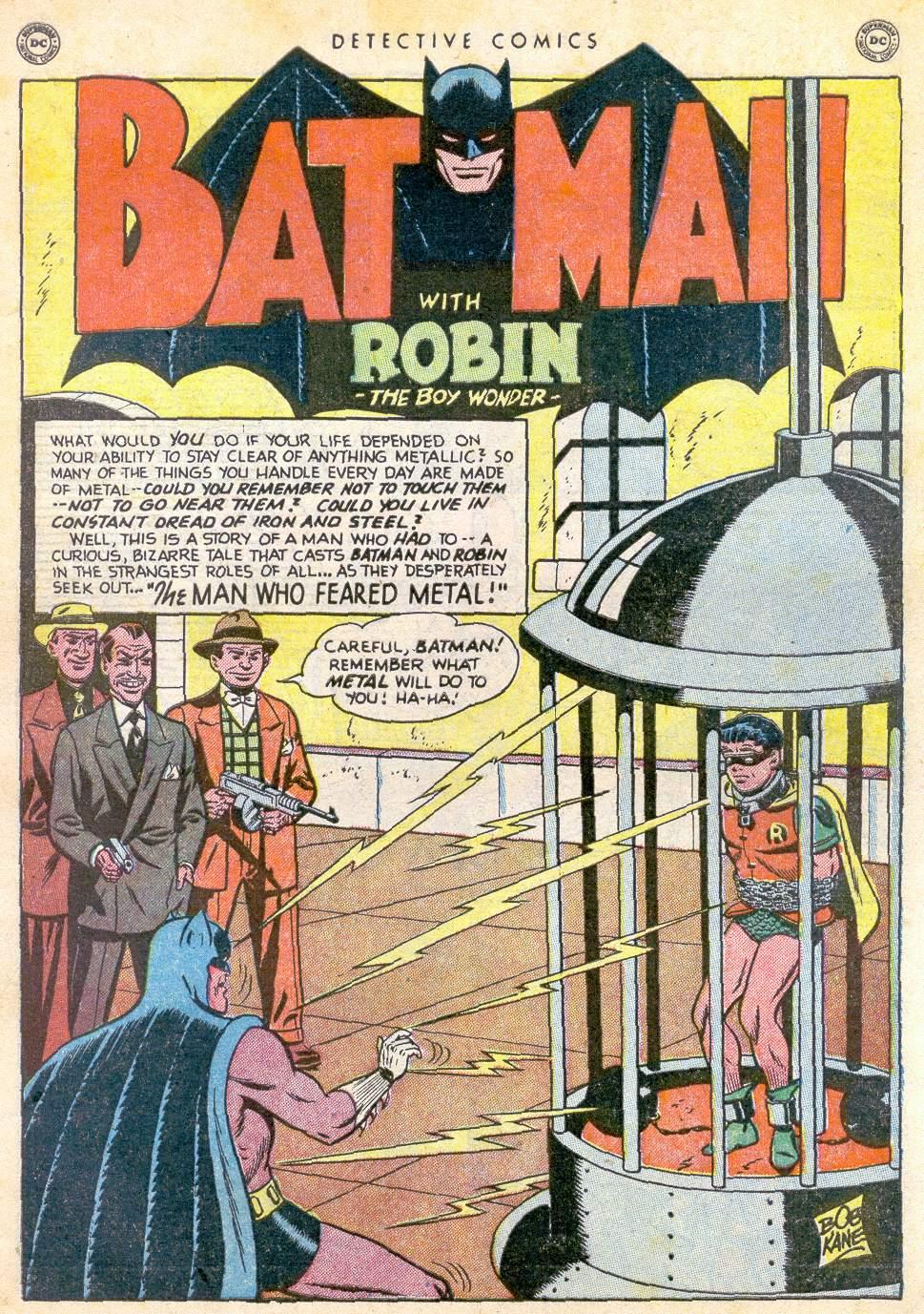 Read online Detective Comics (1937) comic -  Issue #163 - 2