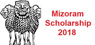 Mizoram Scholarship 2018 - Mizoram Scholarship Board
