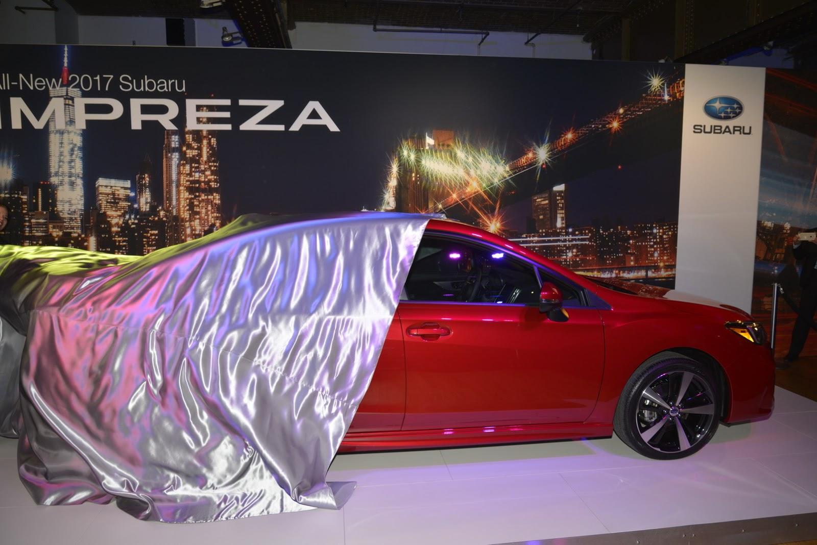 Cận cảnh Subaru Impreza 2017 tại New York Auto Show
