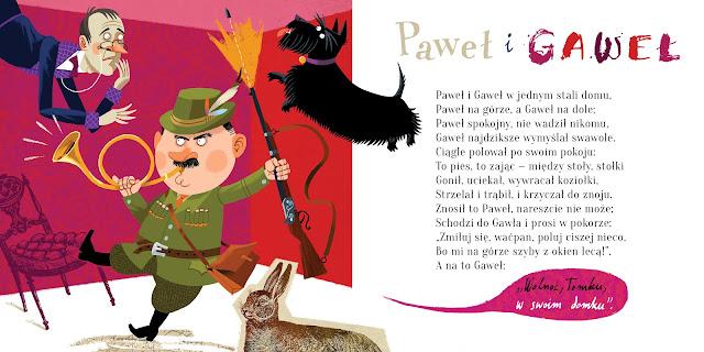 Polska Ilustracja Dla Dzieci Zapowiedź Paweł I Gaweł