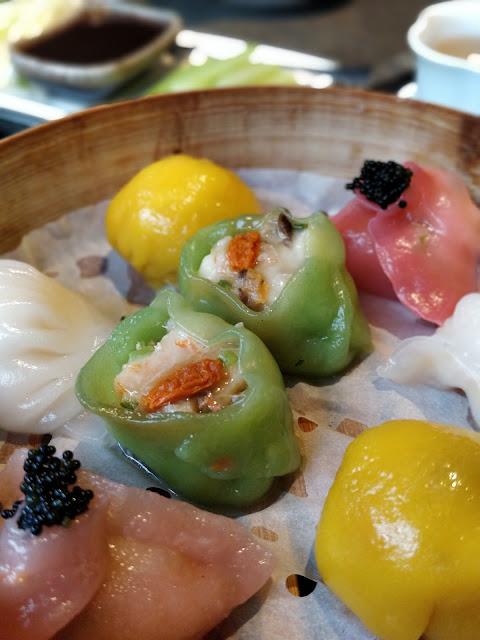 seafood dim sum at Shikumen Ealing