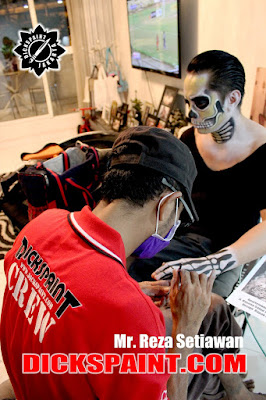face painting zombies jakarta