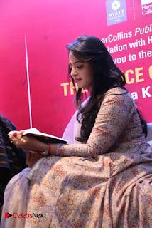 Actress Anushka Pictures in Salwar Kameez at The Dance Of Durga Book Launch  0029.jpg
