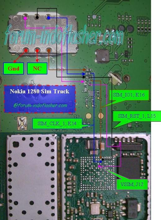 DIGITAL GHOST: Nokia 1280 SIM FULL TRACK