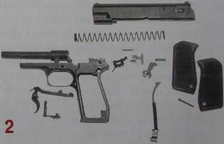 """Полная разборка пистолета ОЦ-27 """"Бердыш"""""""