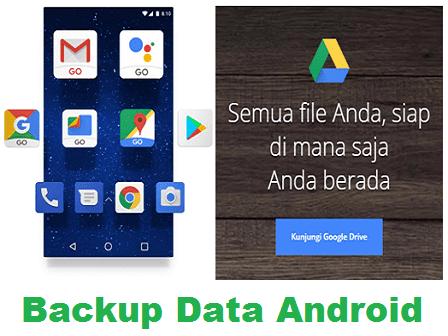Cara Backup Data Android ke Google Drive