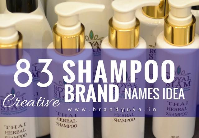 shampoo brand names idea