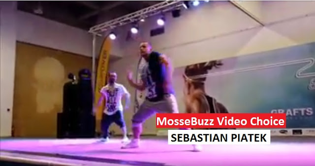 Sebastain Piatek accompagnato da Christos Gabriel, Aerodance al 25th International Fitness Congress by Grafts Hellas in Thessaloniki