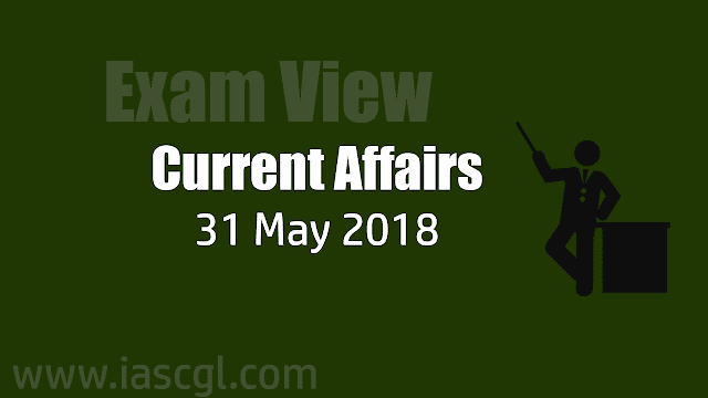 Current Affair 31 May 2018