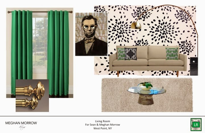 Here Are A Of The Rooms That I Submitted For My Final Project You Will See This Living Room Is Reminiscent Our Cur Fort Drum