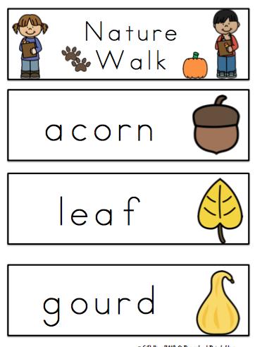 free nature walk for preschool preschool printables