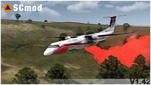 森林火災を空中消火できるArma 3 MOD