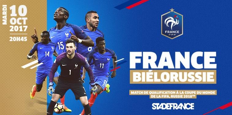 France v Biélorussie en direct streaming sur TF1 le 10-10-2017 ...