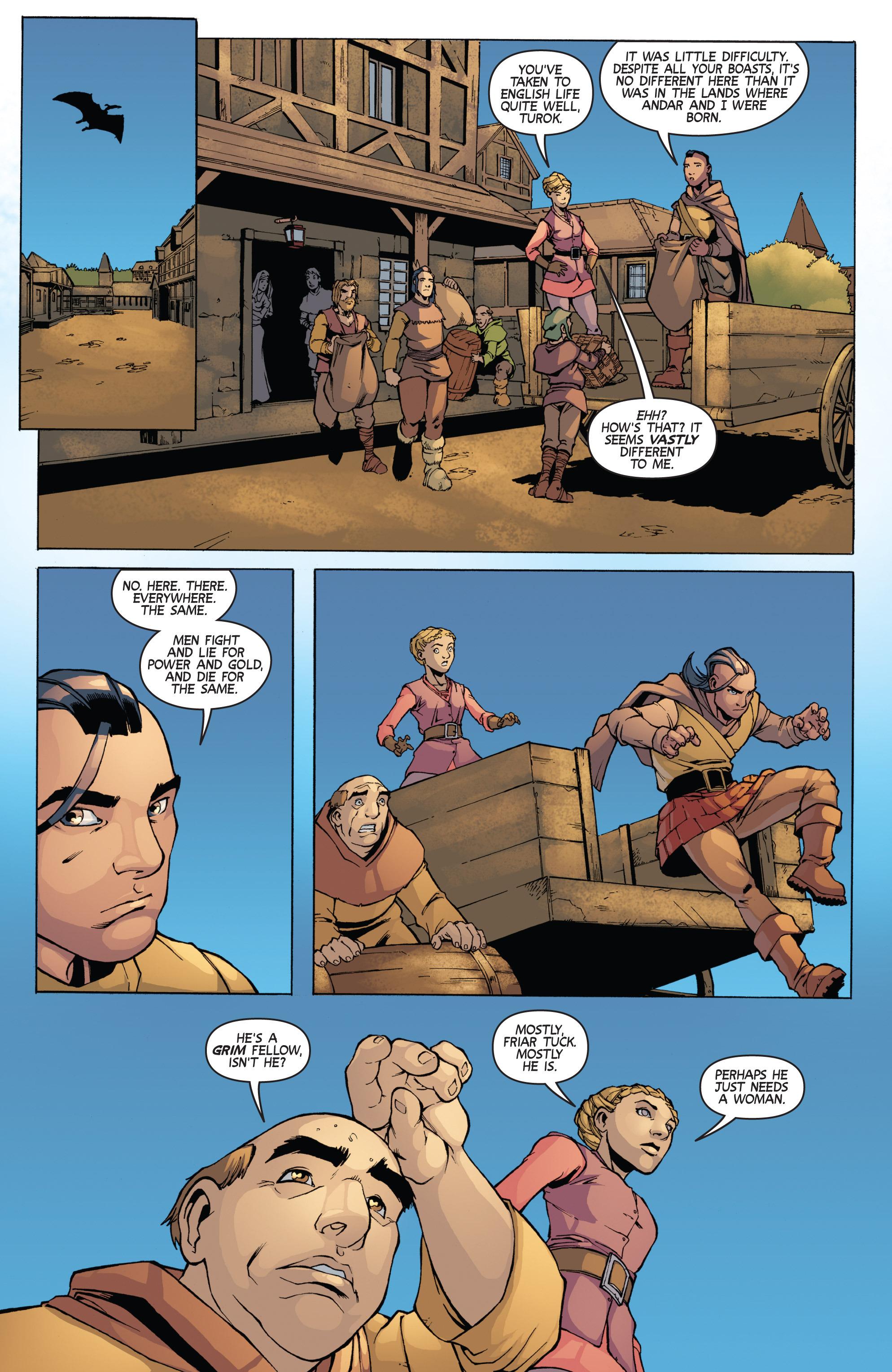 Read online Turok: Dinosaur Hunter (2014) comic -  Issue # _TPB 3 - 64