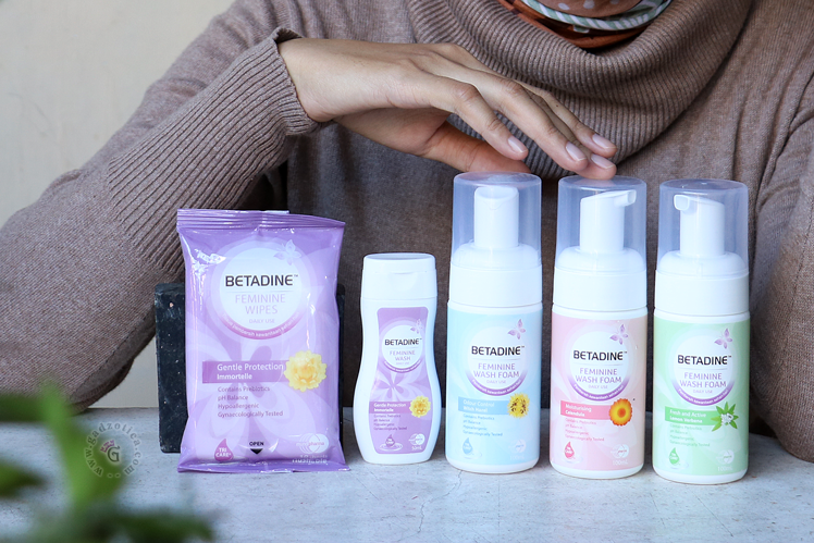 Review Betadine Feminine Wash