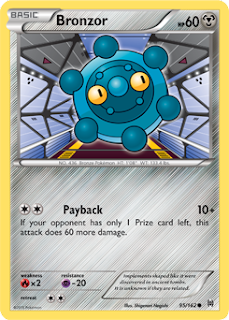 Bronzor BREAKthrough Pokemon Card