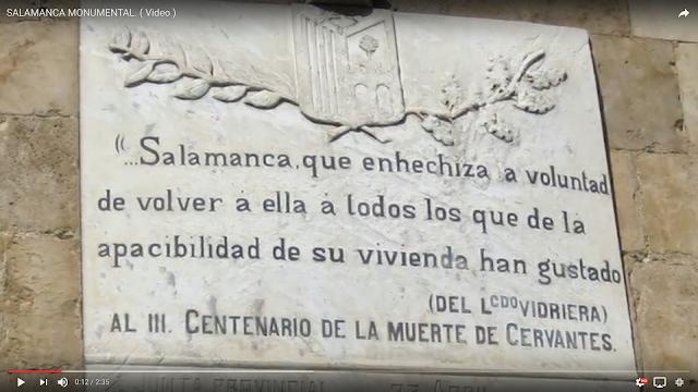 VIDEO DE SALAMANCA