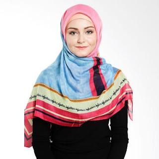 Jilbab Elzatta Kombinasi Warna