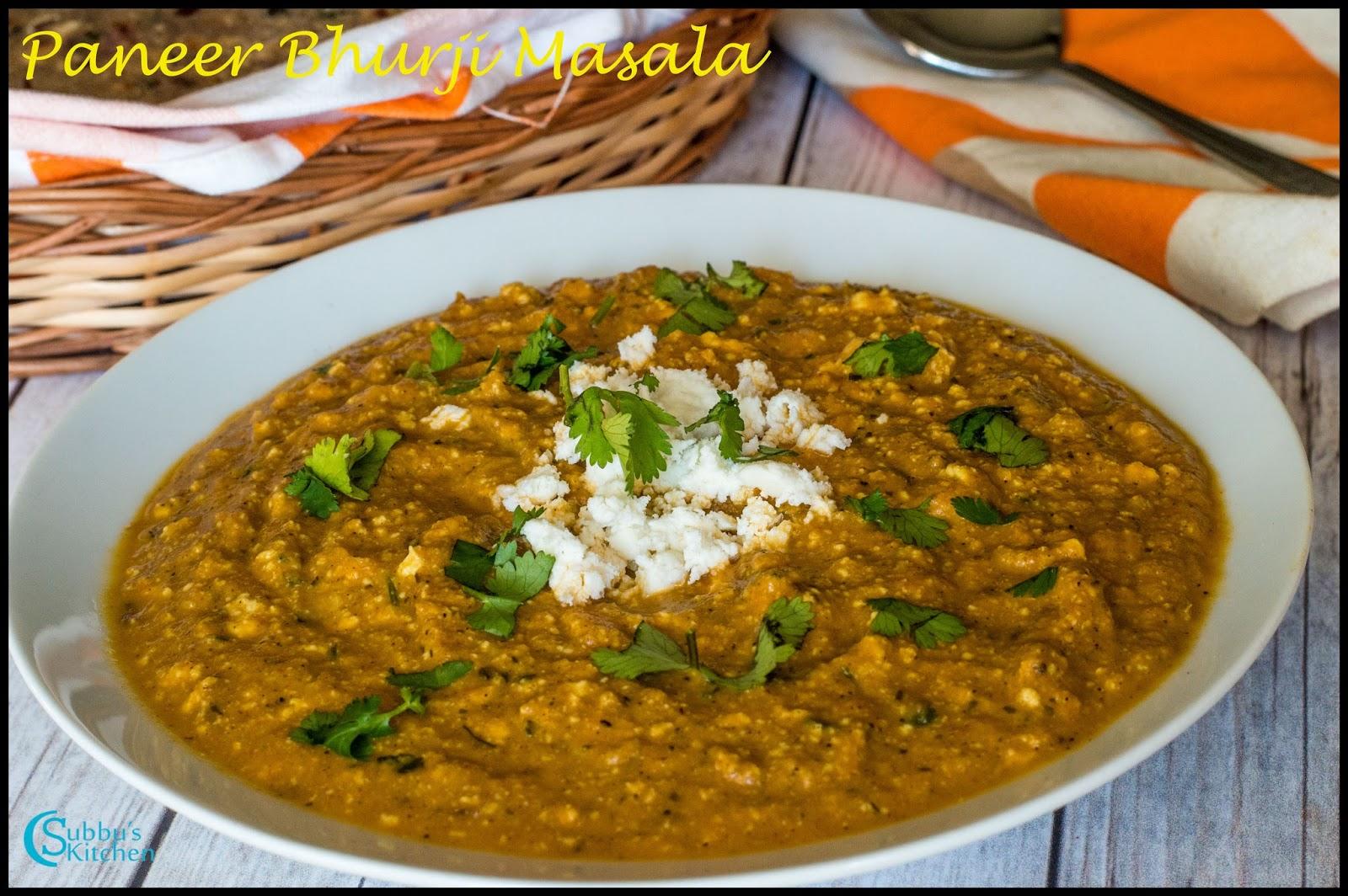Paneer bhurji recipe how to make dry paneer bhurji recipe