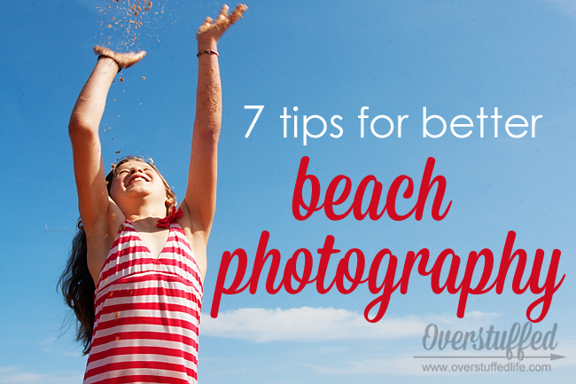 Anybody can learn how to take better photos at the beach, no matter what your skill level with photography! This tutorial will show you how to take better photos at the beach | 7 ways to improve beach photography