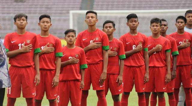 Garuda Muda Sukses Kalahkan Singapura U-16 dengan skor 4-0