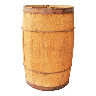 Wooden Nail Keg