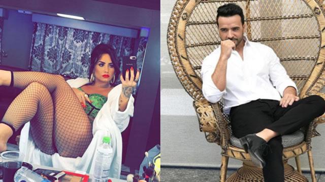 Demi Lovato canta en español junto a Luis Fonsi