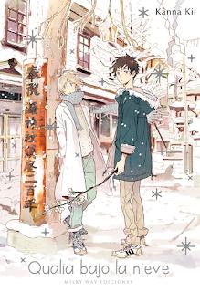 """Reseña de """"Qualia bajo la nieve (Yuki no Shita no Qualia)"""" de Kanna Kii - Milky Way"""