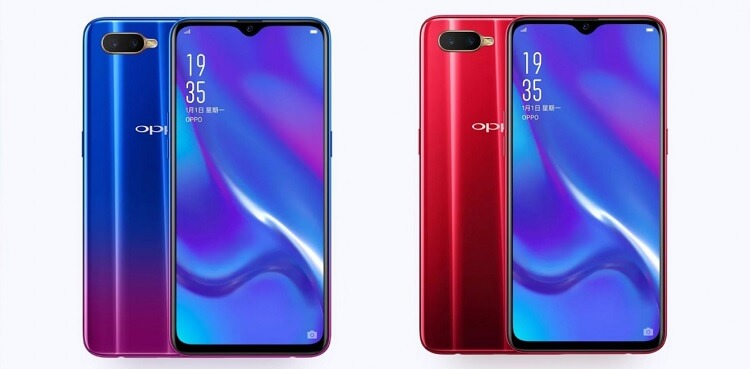 OPPO K1 with In-display Fingerprint Scanner Launched