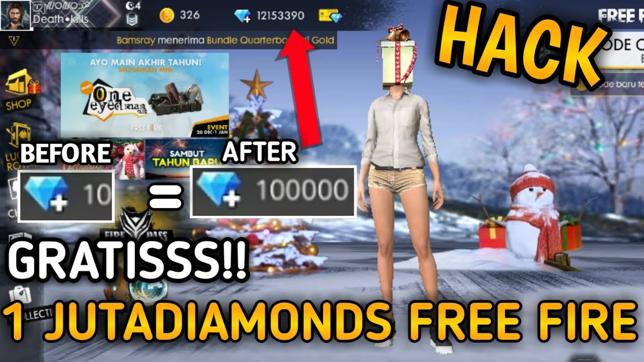 Garena Free Fire Hack Diamonds And Coins 2019 Ebosu Xyz/Fire