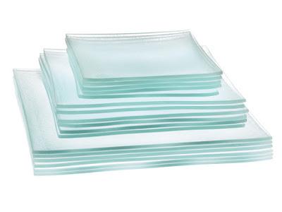 Glas Geschirr Set