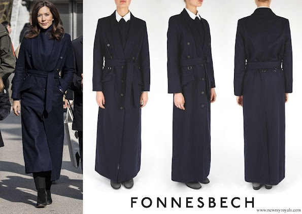 Crown Princess Mary wore Fonnesbech Avignon Trench Coat