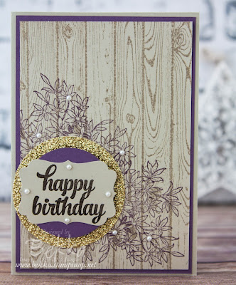 Awesomely Artistic Birthday Card - check out lots of cute projects using Stampin' Up! UK Supplies here