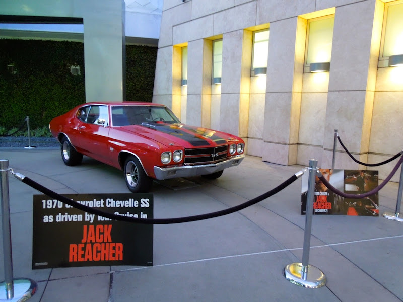 Jack Reacher movie car display ArcLight Hollywood