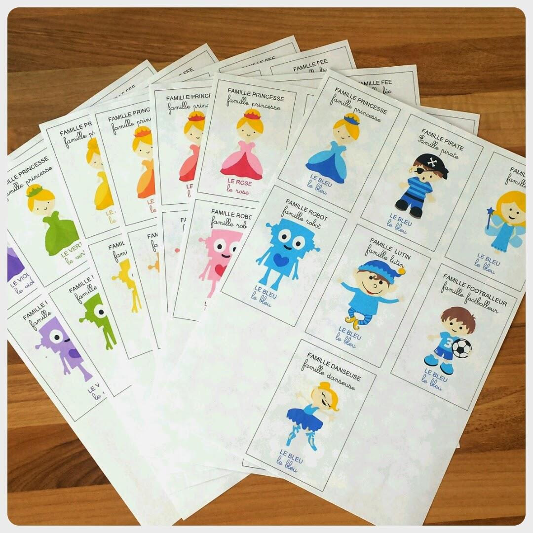 souvent Trucs de Maëliane, le blog.: [Diy] 7 familles des couleurs +  QW41