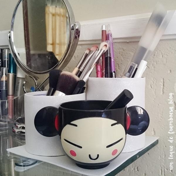organizador de maquiagem passo-a-passo