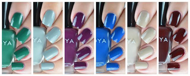 nail polish swatches