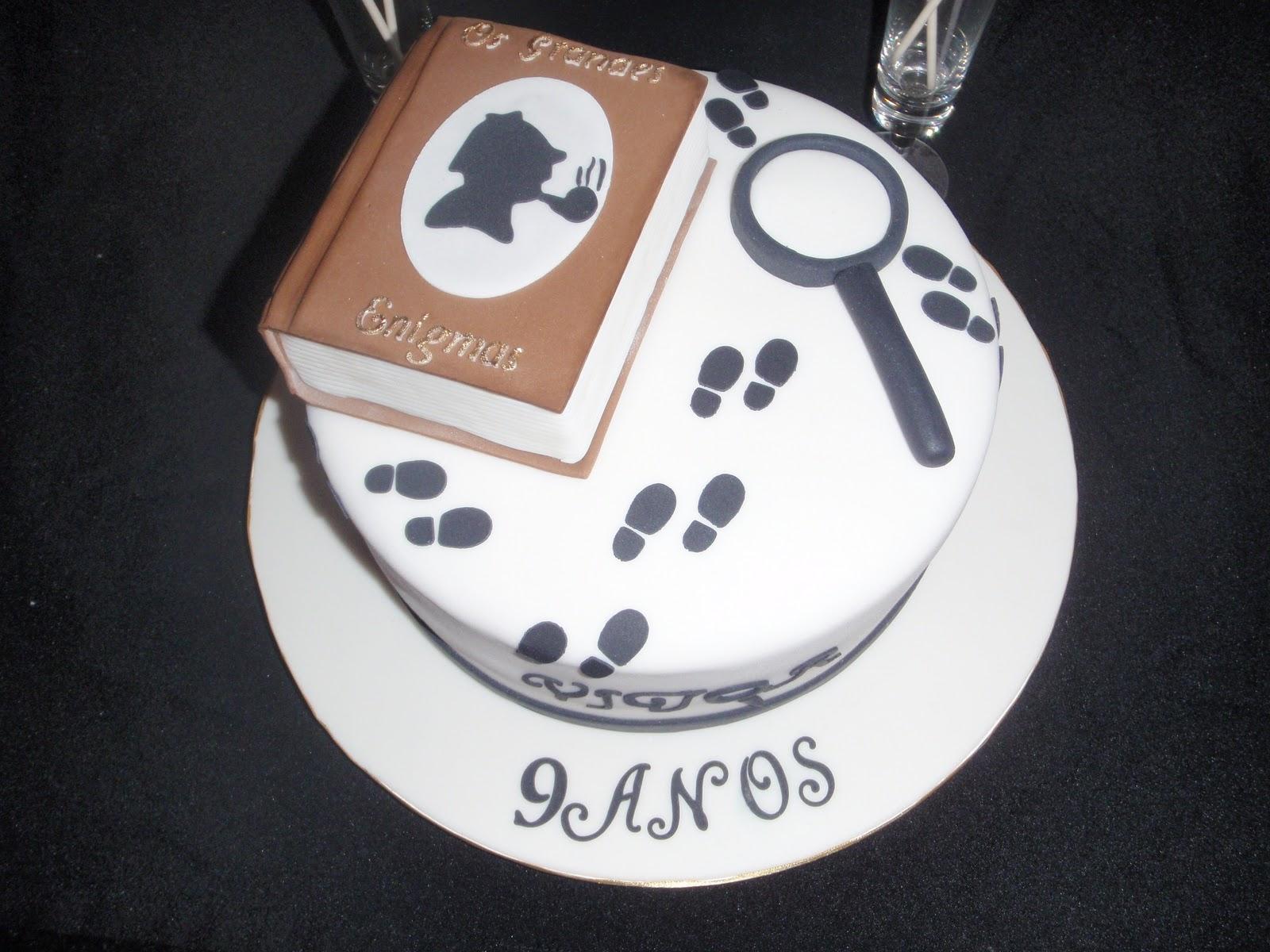 Sherlock Cake Decorations