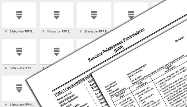 Silabus dan RPP Perangkat Pembelajaran SMK Kurikulum 2013 Lengkap