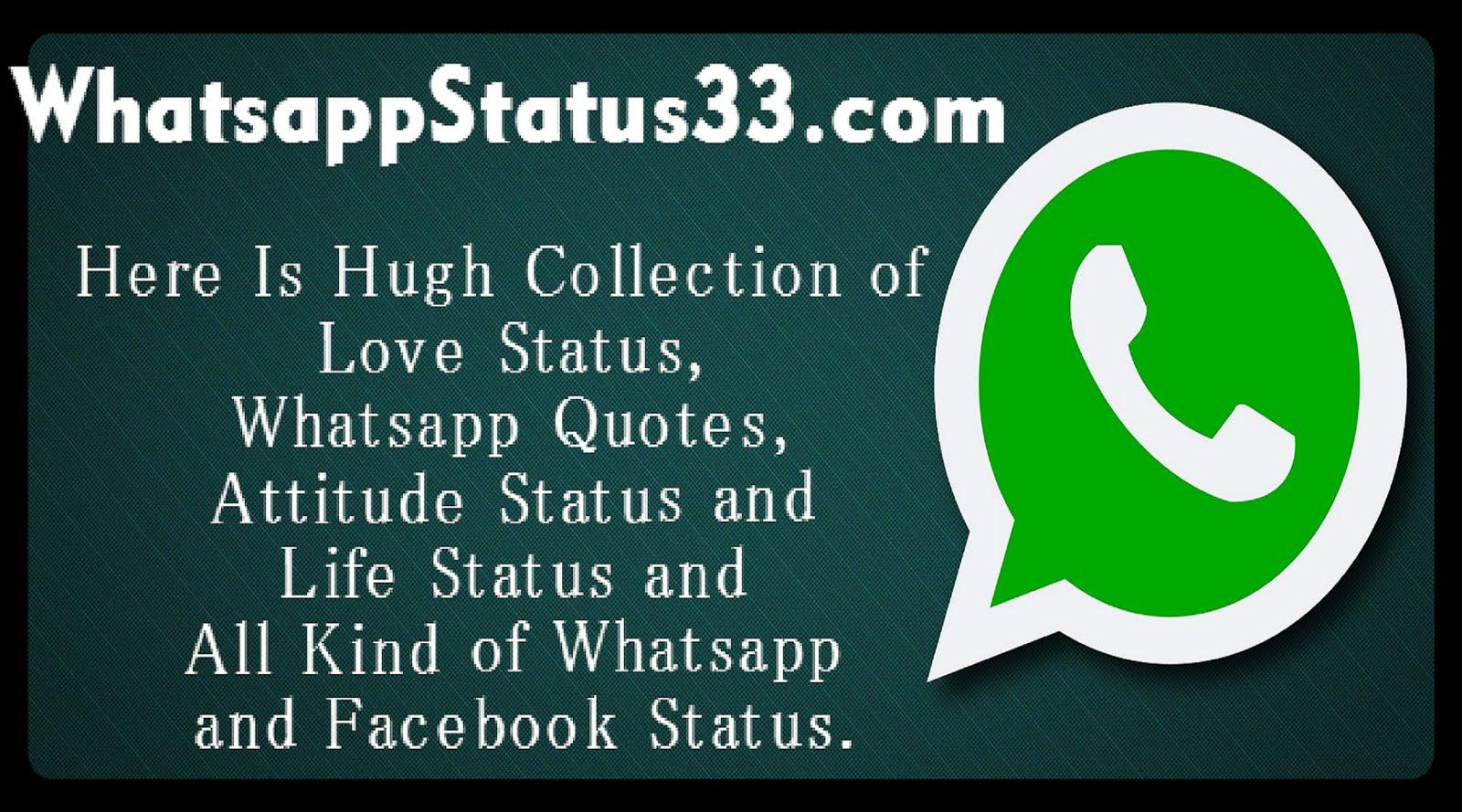 Status Whatsapp: Whatsapp Status Quotes